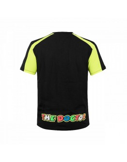 Valentino Rossi 46 T-Shirt Black/Yellow