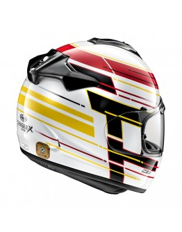 Arai Chaser-X Striker White
