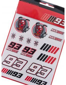 MM93 Medium Stickers
