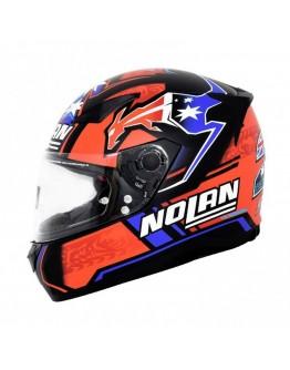 Nolan N60-5 Replica C. Stoner Flat Black 40