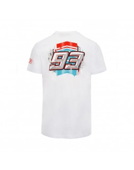 T-shirt Marc Marquez Special Edition Barcelona White