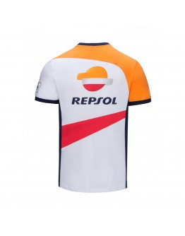 T-shirt Repsol Dual Marquez 93 White/Orange
