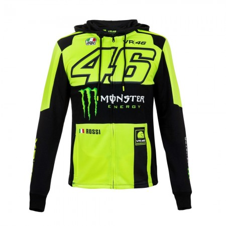 Valentino Rossi Monza Replica Hoodie Ζακέτα Yellow