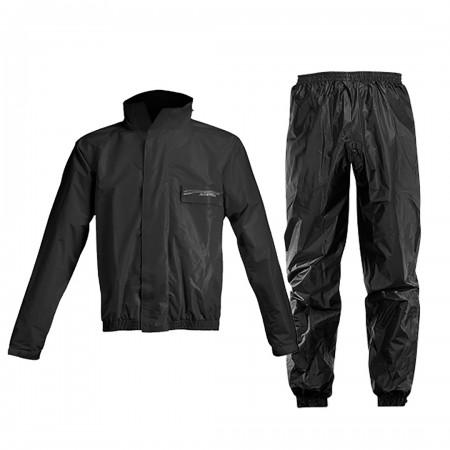 Acerbis Rain Suit Logo Black