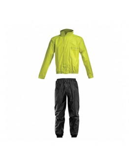 Acerbis Rain Suit Logo Black/Yellow
