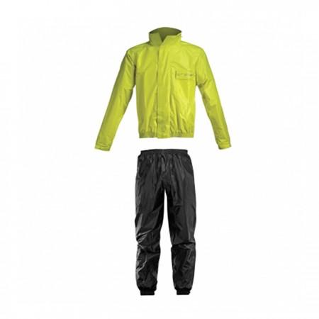Acerbis Rain Suit Logo Black/Yellow