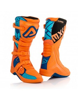 Acerbis Μπότες X-Team Orange/Blue