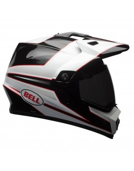 Bell MX-9 Adventure Mips Stryker White/Black