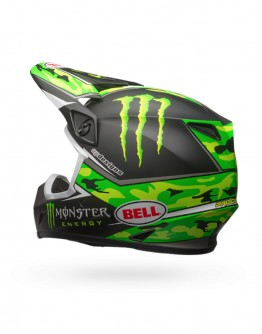 Bell MX-9 Mips Pro Circuit Camo Green