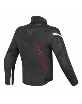 Dainese Stream Line D-Dry Jacket Black/Red