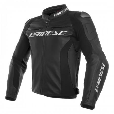 Dainese Racing 3 Leather Jacket Black/Black