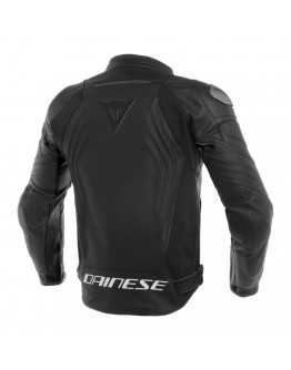 Racing 3 Leather Jacket Black/Black
