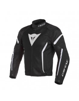 Dainese Air Crono 2 Tex Μπουφάν Black/White