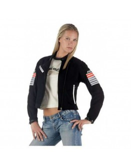 Dainese Lola Soft Lady Tex Jacket Grey/Red