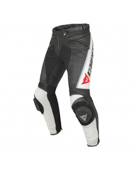 Dainese Delta Pro C2 Summer Leather Pant Black/White