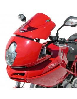 Ermax Ζελατίνα Ducati Multistrada 620/1100 04-09 Aeromax Dark Smoke