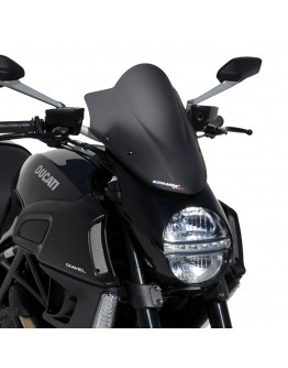 Ermax Ζελατίνα Nose Ducati Diavel 11-14