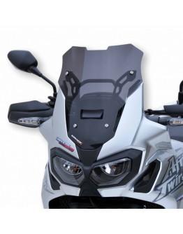 Ermax Ζελατίνα Sport Honda CRF 1000 L Africa Twin 16-19 Dark Smoke