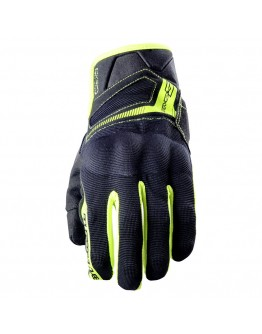 Five RS3 Gloves Black/Fluo Yellow