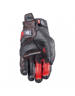 Five Sportcity S Carbon Gloves Black/Red