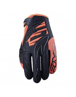 Five MX MXF3 Γάντια Black/Fluo-Orange