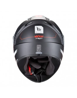 MT Stinger Warhead Matt Black/White/Red