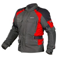 Nordcode Horizon Jacket Olive Grey Red