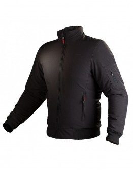 Fovos Bomber Jacket Black