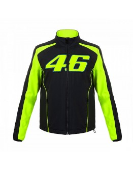 VR46 Jacket Black  Yellow