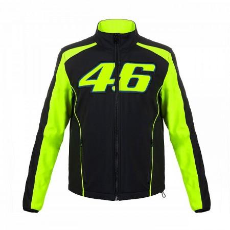VR46 Jacket Black  Yellow