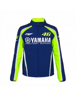 Yamaha VR46 Jacket Blue