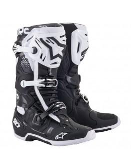 Alpinestars MX Μπότες Tech-10 Black/White