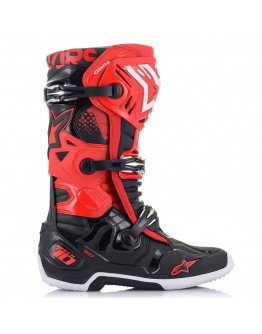 Alpinestars MX Μπότες Tech-10 Red/Black