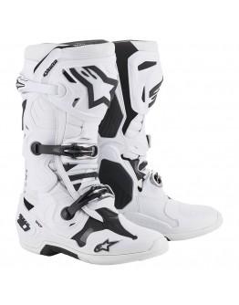 Alpinestars MX Μπότες Tech-10 White