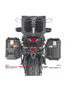 Givi Βάσεις Πλαϊνών Yamaha Tracer 9 21 OBK PLO2159CAM
