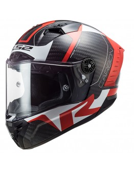LS2 FF805 Thunder Racing 1 Red/White