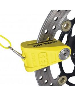 Oxford Κλειδαριά Δίσκου Alpha XD14 Disc Lock Yellow