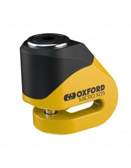 Oxford Κλειδαριά Δίσκου Micro XD5 Disc Lock Yellow/Black