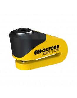 Oxford Κλειδαριά Δίσκου Quartz XD6 Disc Lock Yellow/Black