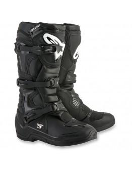 Alpinestars MX Μπότες Tech-3 Black