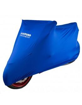 Oxford Κουκούλα Protex Stretch Indoor Premium Cover Medium 229cm Blue
