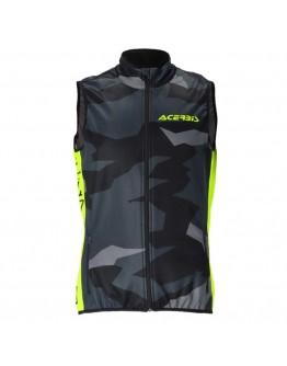Acerbis Γιλέκο X-Wind Softshell Vest Βlack/Υellow