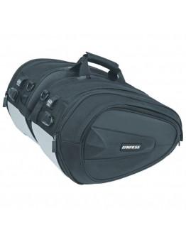 Dainese D-Saddle Motorcycle Bag Πλαϊνοί Σάκοι Stealth-Black