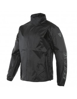Dainese VR46 Rain Jacket Black/Fluo-Yellow