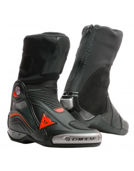 Dainese Axial D1 Μπότες Black/Red-Fluo
