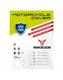 Nordcode Κουκούλα Μοτοσικλέτας Evo Line Αδιάβροχη XLarge Black