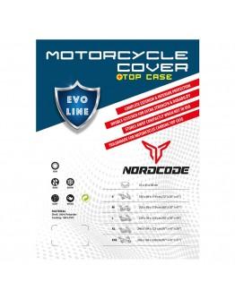 Nordcode Κουκούλα Μοτοσικλέτας Evo Line Αδιάβροχη Medium Topcase Black