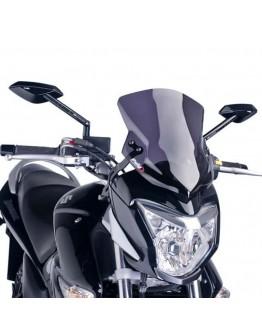 Puig Ζελατίνα Suzuki Inazuma 250 13-17 Sport Dark Smoke