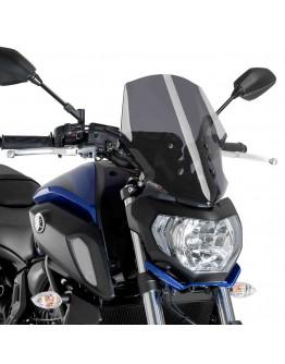 Puig Ζελατίνα Yamaha MT-07 18 Touring Dark Smoke