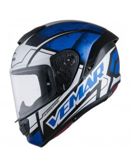 Vemar Hurricane Claw White/Blue